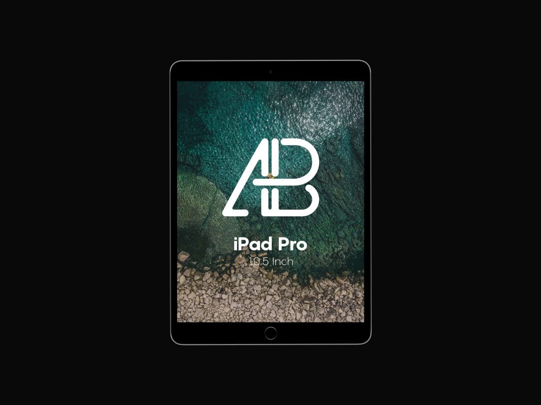 iPad Pro 10.5 Inch PSD Mockup by Anthony Boyd Graphics