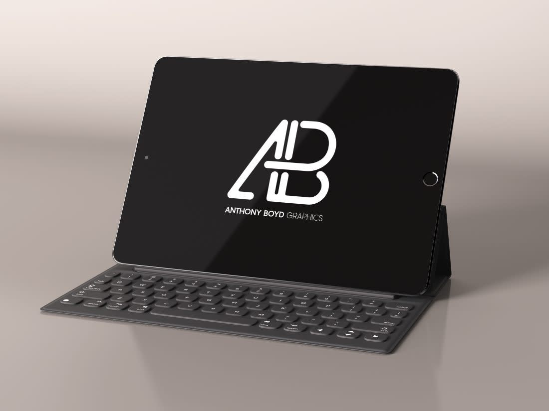 Realistic iPad Pro Mockup Vol.3 by Anthony Boyd Graphics