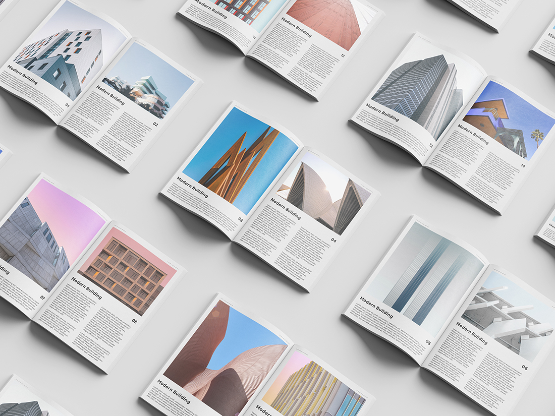 Magazine Set Mockup by Anthony Boyd Graphics