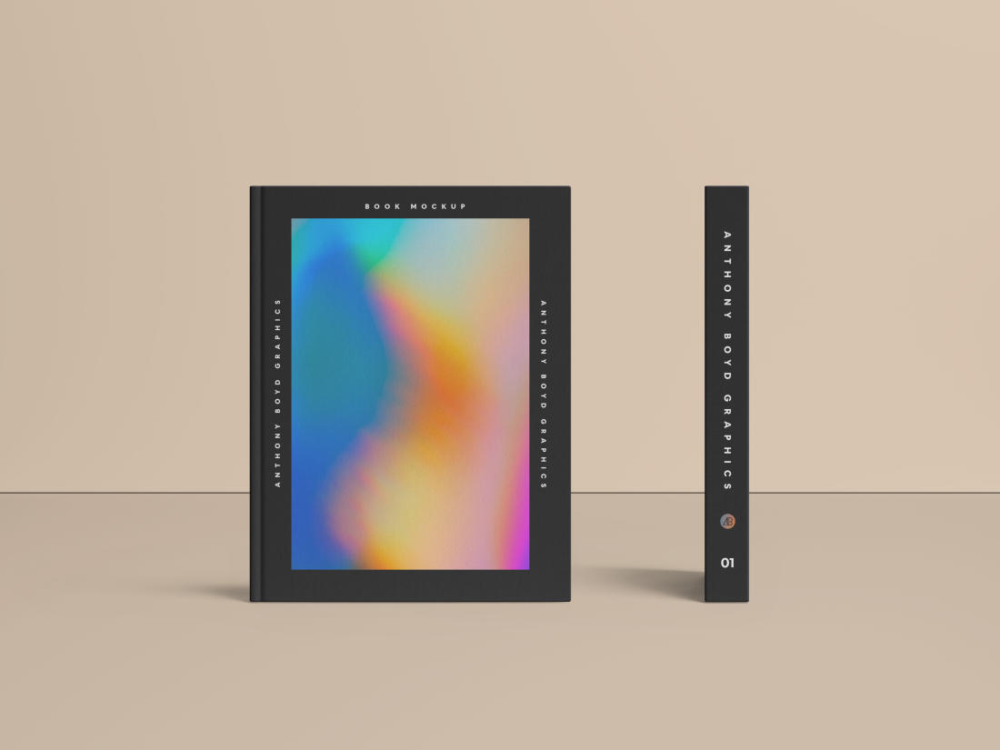 Book Mockup Vol.2 by Anthony Boyd Graphics