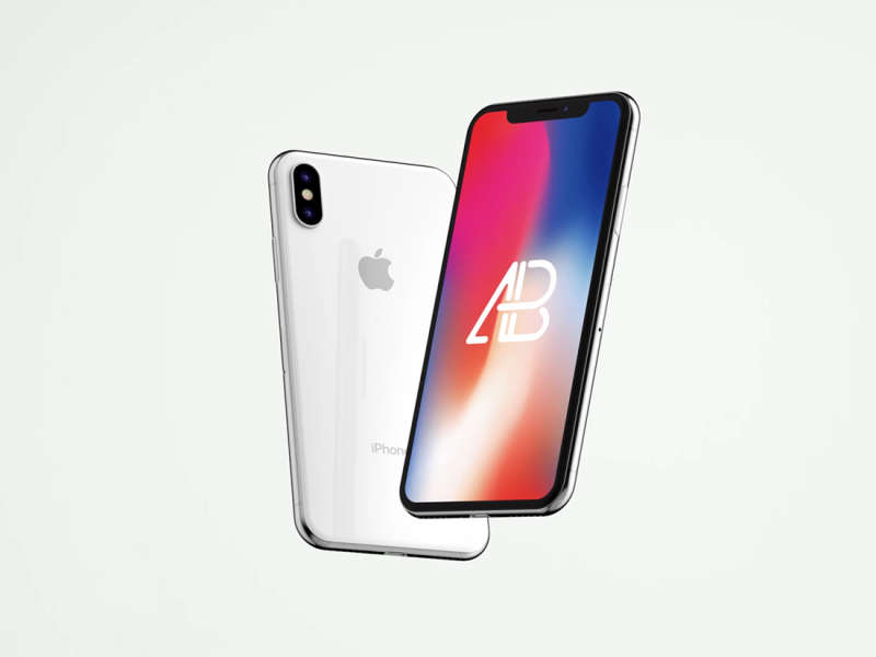 Animated iPhone X Mockup Vol.2 by Anthony Boyd Graphics