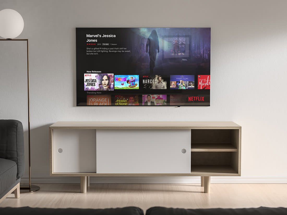 Modern TV Mockup by Anthony Boyd Graphics