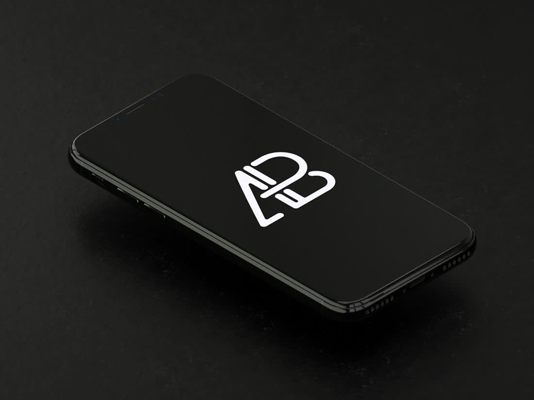 Animated iPhone X Mockup by Anthony Boyd Graphics