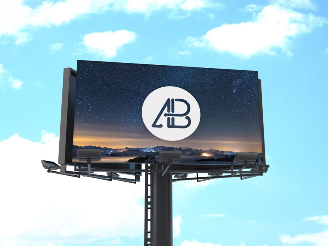 Free Billboard Mockup Vol.1 by Anthony Boyd Graphics