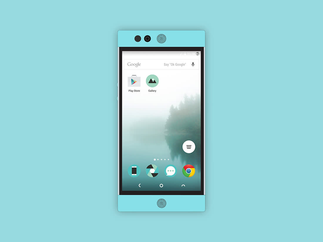 Flat 2D Nextbit Robin Mockup Vol.1 by Anthony Boyd Graphics