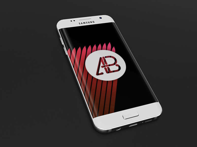 Realistic Samsung Galaxy S7 Mockup by Anthony Boyd Graphics