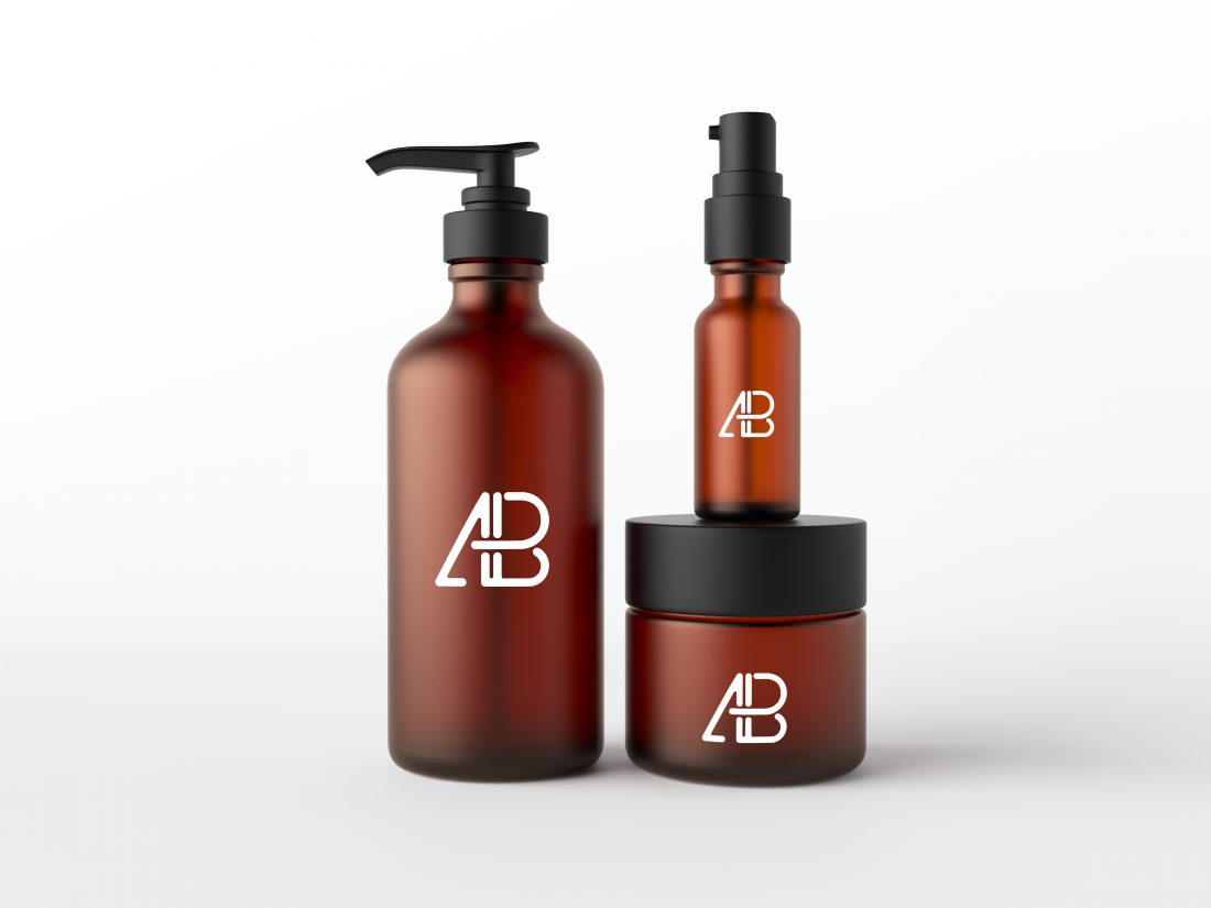 Cosmetic Packaging Mockup PSD by Anthony Boyd Graphics