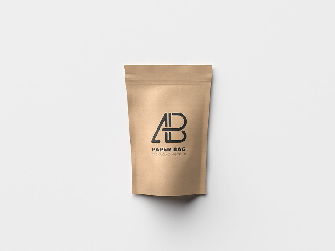 Paper Bag Packaging Mockup by Anthony Boyd Graphics