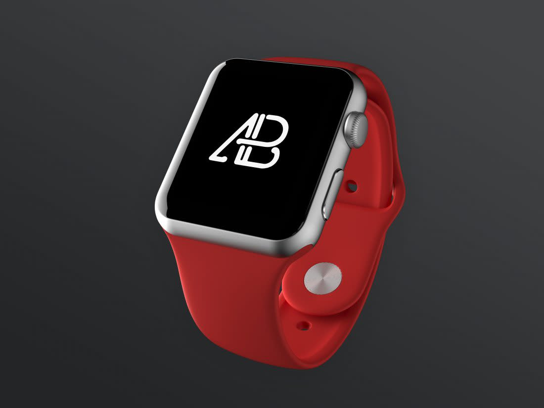 Realistic Apple Watch Series 2 Mockup Vol.2 by Anthony Boyd Graphics