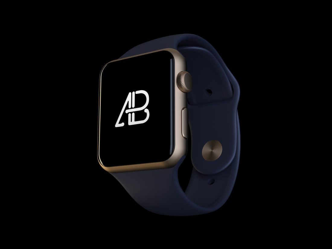 Realistic Apple Watch Series 2 Mockup by Anthony Boyd Graphics