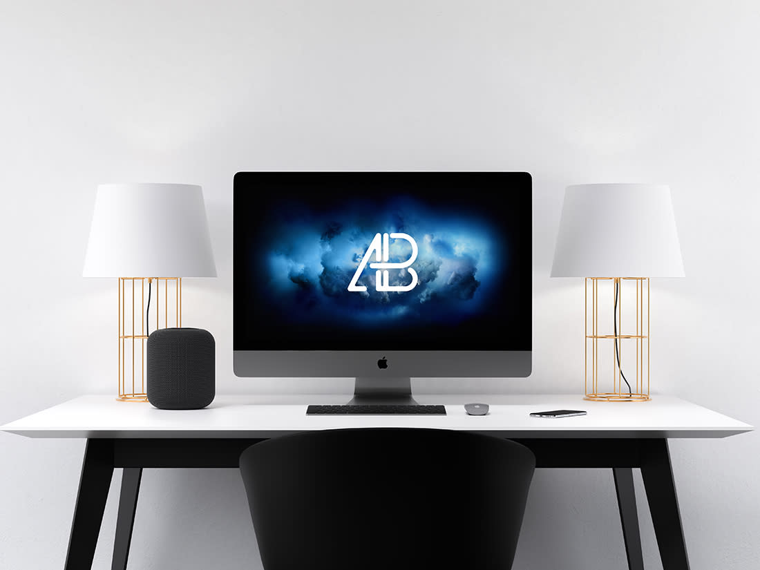Modern iMac Pro Mockup Vol.2 by Anthony Boyd Graphics