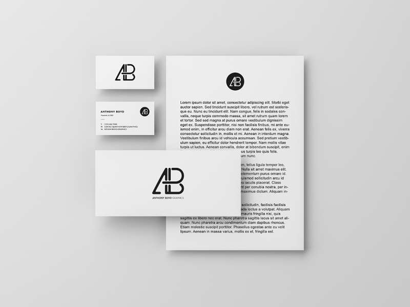 Modern Branding Identity Mockup Vol.3 by Anthony Boyd Graphics