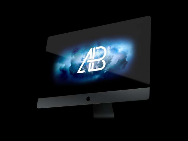 iMac Pro PSD Mockup Vol.3 by Amthony Boyd Graphics