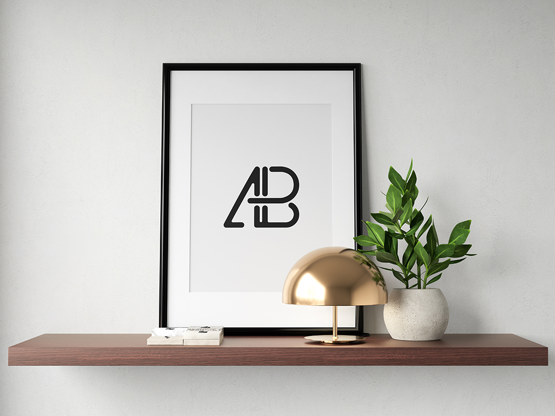 Modern Poster Mockup Vol.4 by Anthony Boyd Graphics