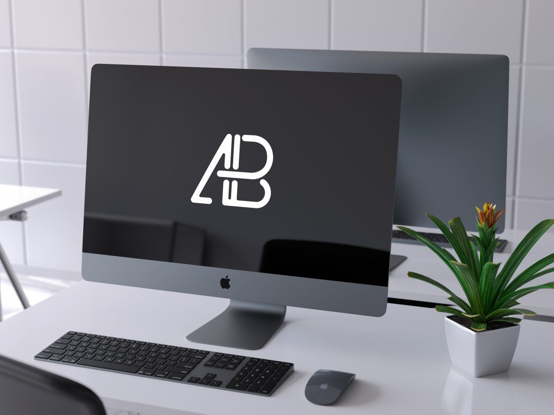 iMac Pro PSD Mockup Vol.4 by Anthony Boyd Graphics