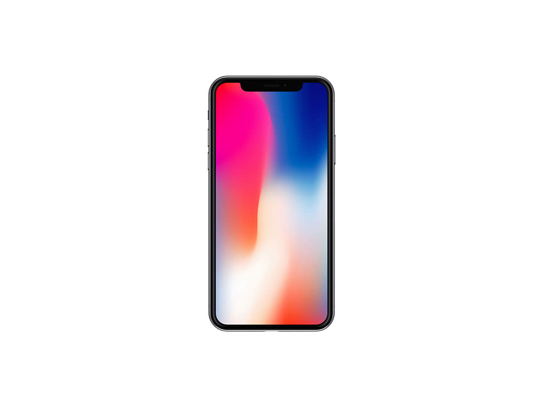 Front View iPhone X Mockup Vol.2 by Anthony Boyd Graphics