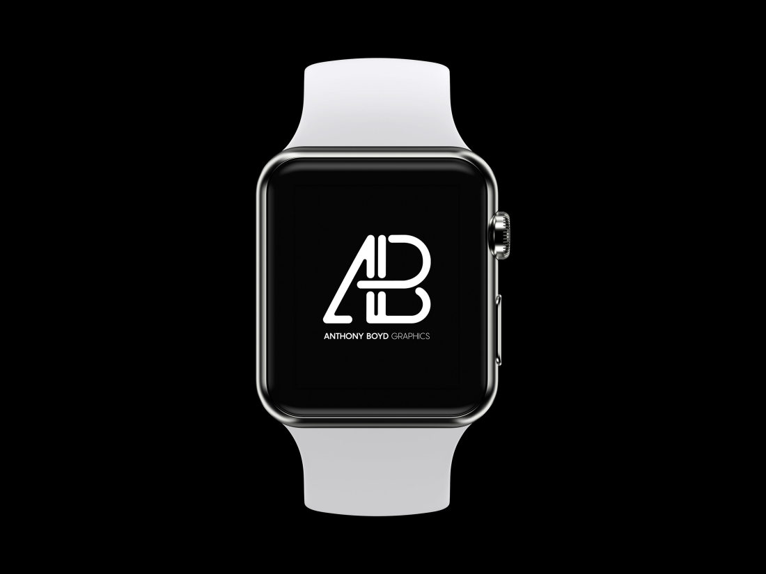 Realistic Apple Watch Series 2 Mockup Vol.3 by Anthony Boyd Graphics