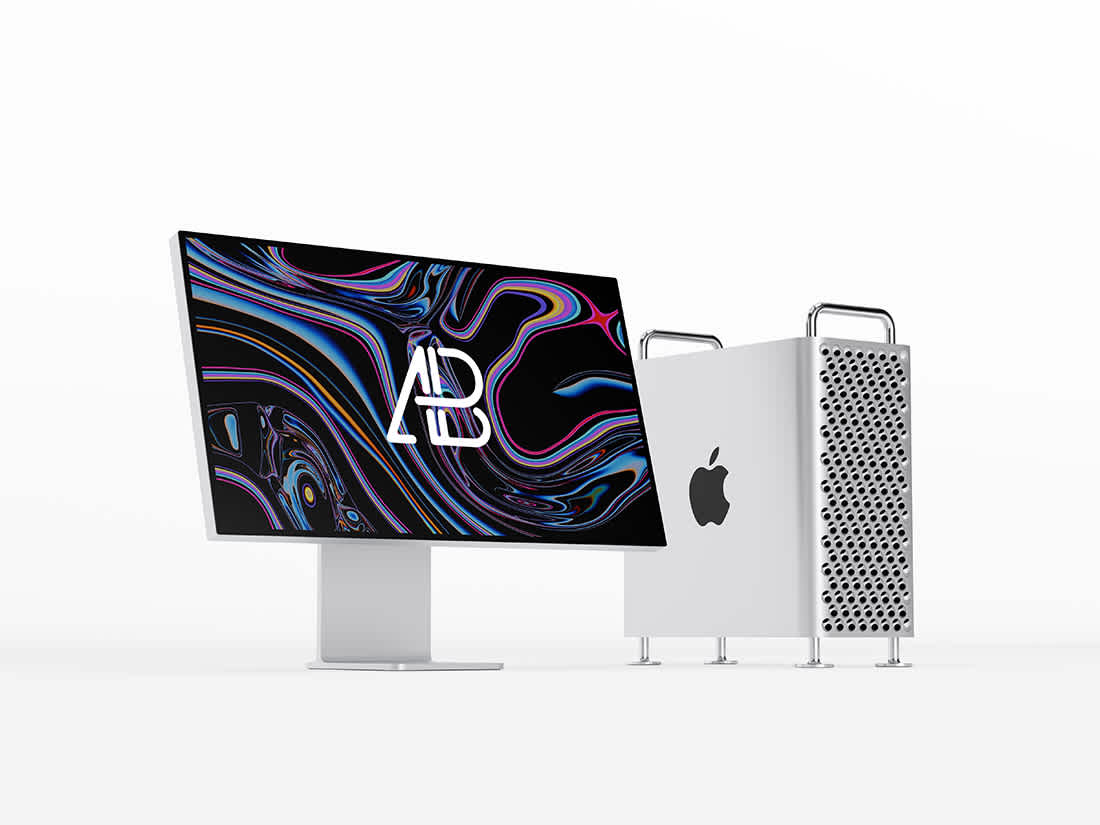 2019 Mac Pro Mockup by Anthony Boyd Graphics