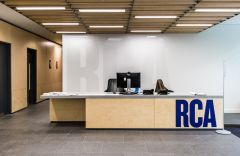 RCA Reception Desk