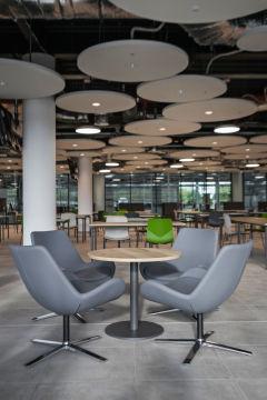 Meggitt - four person breakout with acoustic ceiling