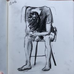 SB - Artists In Residence - Charlie In Charcoal