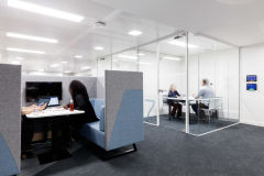 OFSTED Meeting Room and Booth