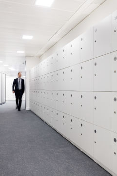 OFSTED Locker Wall (Portrait)