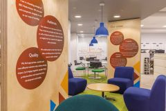 BBC Media Action Values Boards With Soft Seating