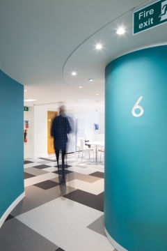 Home Office Wayfinding 'Floor 6'