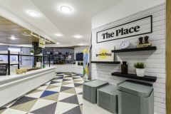 BNY Mellon Restaurant 'The Place' Branding