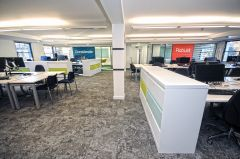 OGA Office Area With Statement Walls