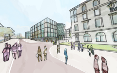 Leeds Beckett Sketch View Of City Campus