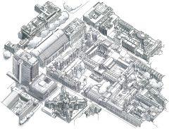 UCL Sketch of Bloomsbury Campus