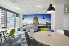 MOJ Leeds Soft Seating With Wall Graphic 2