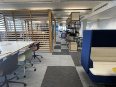 MoJ Pilot Space 102 Joinery And Booth Seat