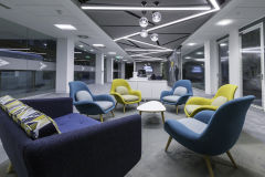 BNY Mellon Reception Breakout Area