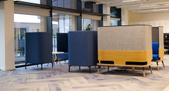 ARCO - Blue chair cluster