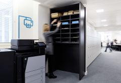 OFSTED Print and Filing Area With Icon Graphic