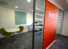 OGA Meeting Room With Statement Wall