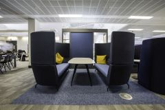 Rolls Royce Blue Meeting Booth