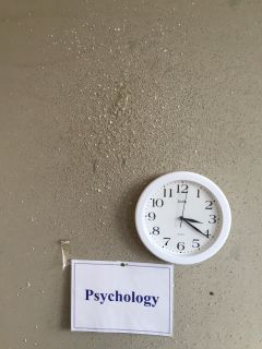 University of Hull Psychology Clock