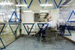 Rolls Royce Blue Meeting Room In Use Triangle Manifestation