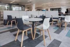 Meggitt - Breakout Space with neutral furniture