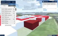 University of Oxford - Laboratory 3D Image
