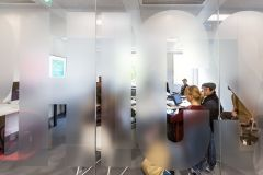 RCA Frosted Glazing Manifestation