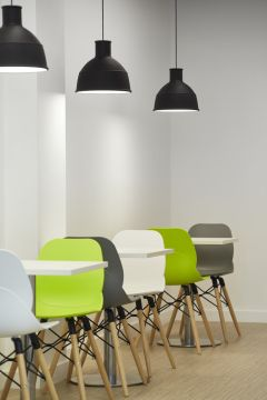 MOJ Leeds Pendant Lighting with Mixed Seating