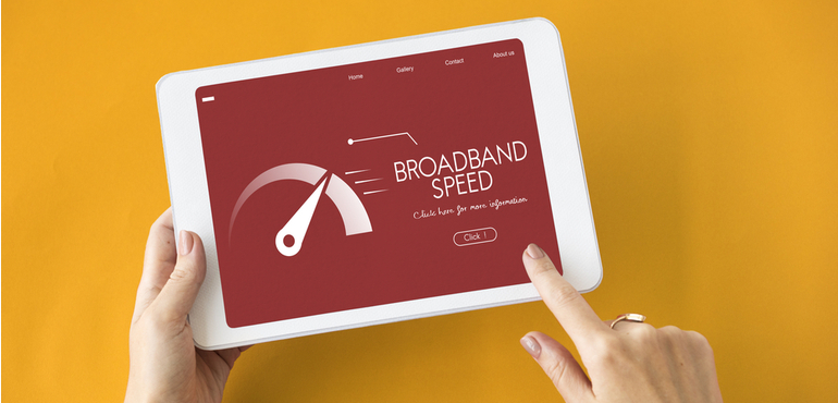 cable broadband speeds ipad rendered