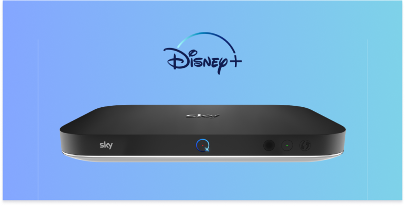 Get Disney Plus on Sky