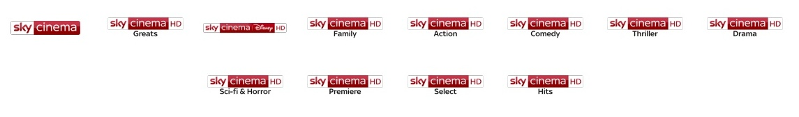 sky cinema channels