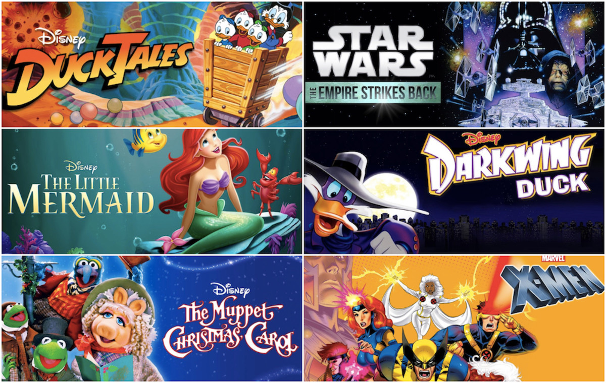 Disney Plus relive your childhood cartoons